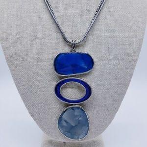 Laura Ashley Modernist Geometric Design Necklace